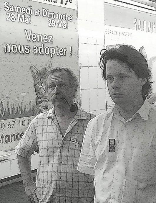 En campagne en 2005